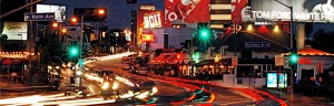 Sunset Strip in Los Angeles